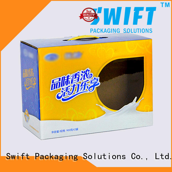 folding cardboard boxes for food products supplier for cake SWIFT