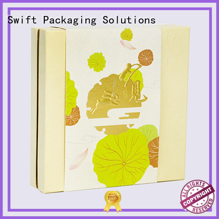 SWIFT corrugated cardboard gift boxes with lids factory for birthday