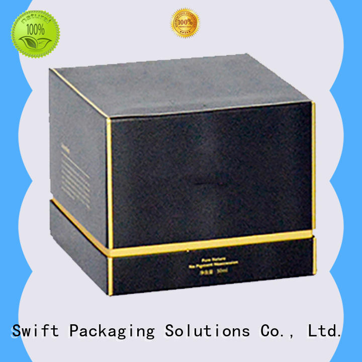 SWIFT printing cosmetic packaging boxes directly sale for face cream