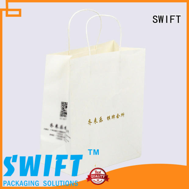 quality paper gift bags with handles factory for birthday