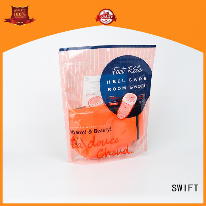 SWIFT plastic bags for clothes supplier for jacket