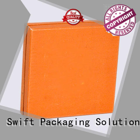 SWIFT cardboard food boxes customized for chocolate