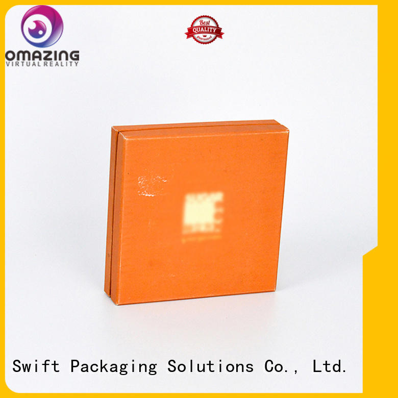 food safe cardboard boxes window cake cookie SWIFT
