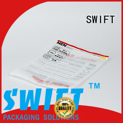 SWIFT stylish cloth packaging bags with good price for t shirt