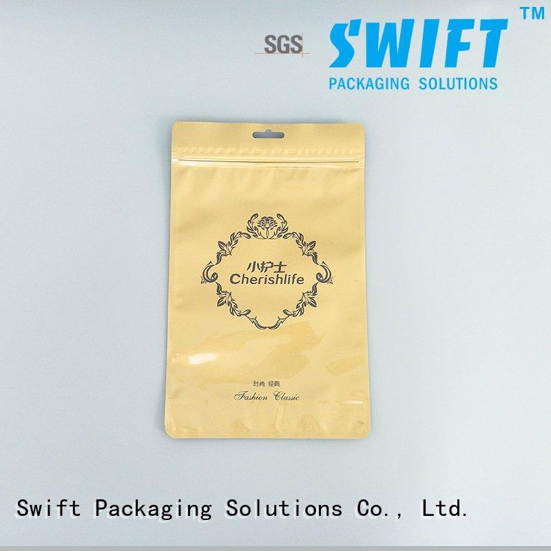 SWIFT Brand plastic ziplock clear clear plastic garment bags wholesale