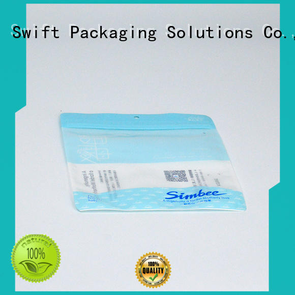 SWIFT plastic packaging bags wholesale factory price for briefs