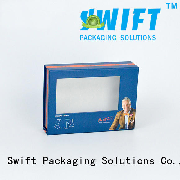design selling box underwear packaging boxes SWIFT
