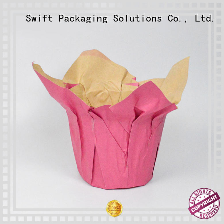 SWIFT cost-effective paper pot cover factory price for decoration