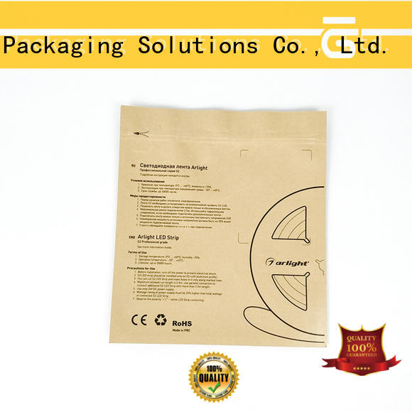 SWIFT kraft custom paper bags directly sale for jacket