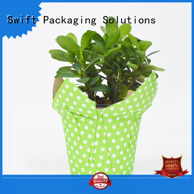 SWIFT cost-effective flower pot cover factory for flower