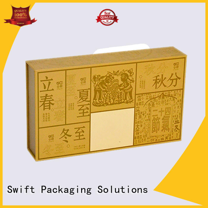 SWIFT cardboard food containers factory price for cake
