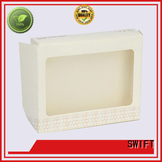 SWIFT brief paper product packaging boxes supplier for ladies