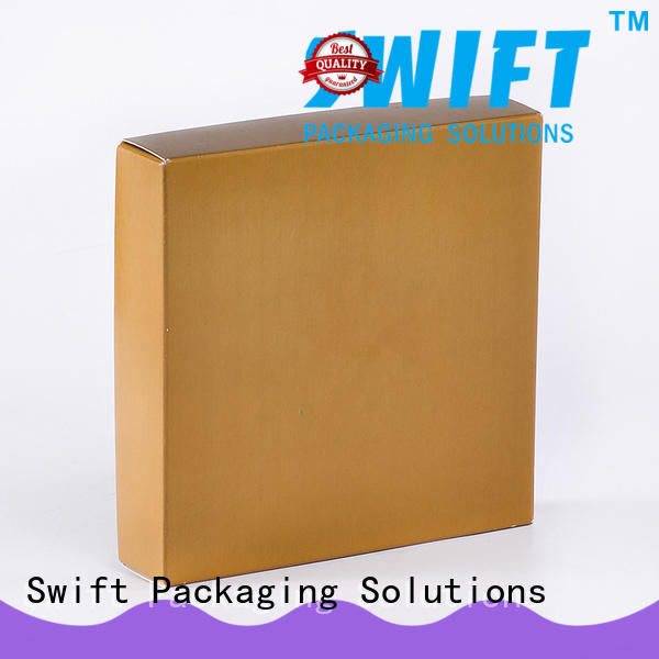 SWIFT coated product packaging boxes factory for men