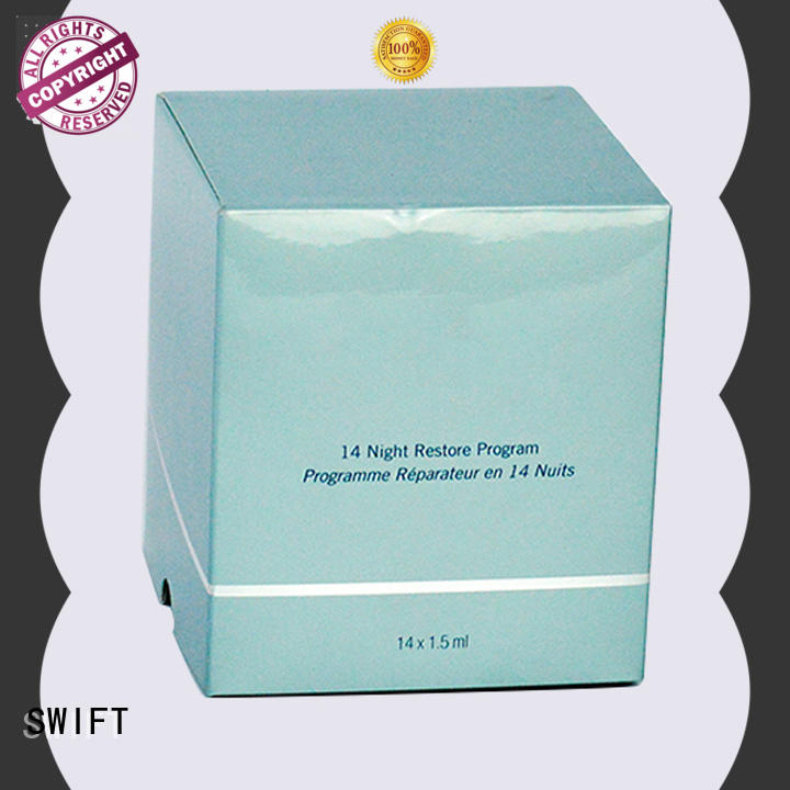 SWIFT quality custom cosmetic boxes factory for mask