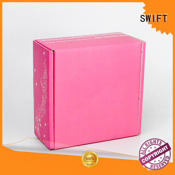 SWIFT lovely cardboard gift boxes with lids directly sale for Christmas