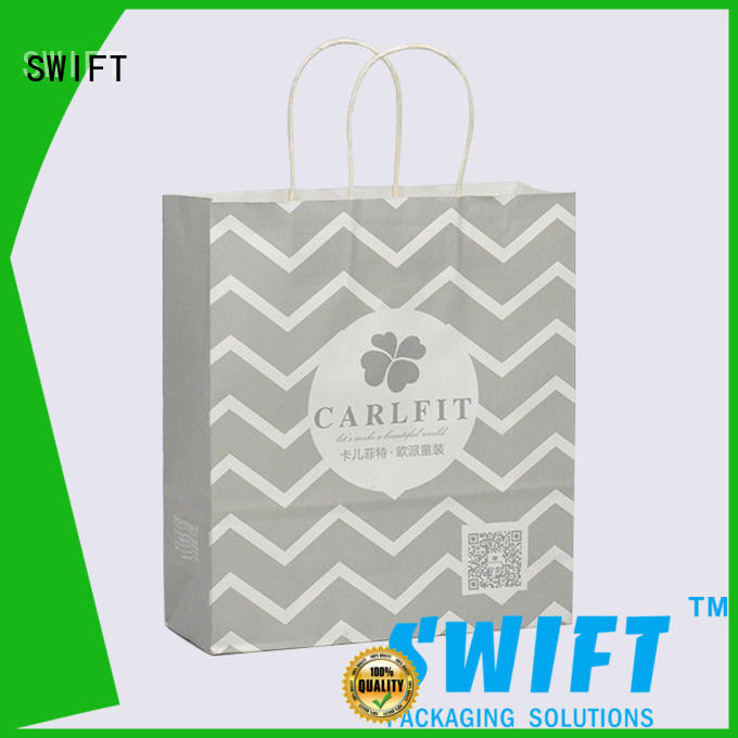 eco friendly paper carrier bags customized for swimwear