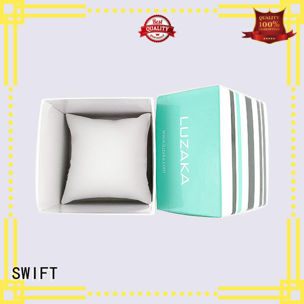 SWIFT jewellery packaging boxes customized for earrings