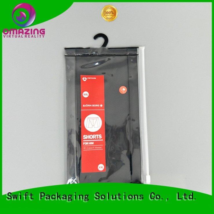 Wholesale design custom printed plastic bags SWIFT Brand