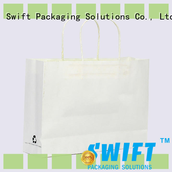 SWIFT paper gift bags with handles directly sale for holiday