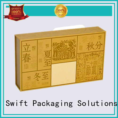 SWIFT pvc window cardboard food packaging manufacturer for snacks