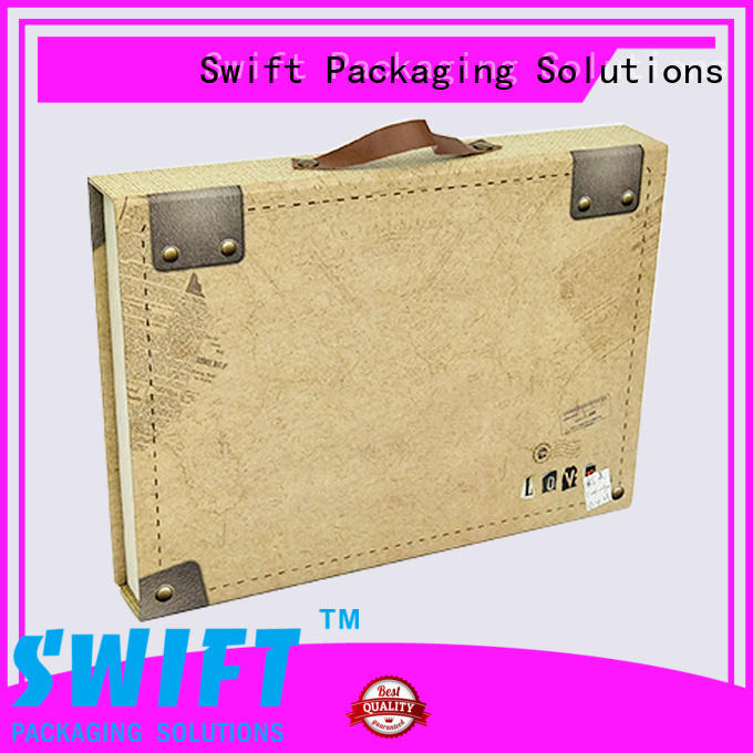 SWIFT colorful cardboard gift boxes with lids wholesale for holiday