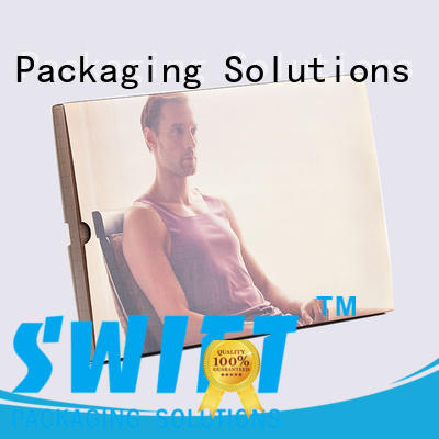 SWIFT printed clothes packing boxes with good price for pants