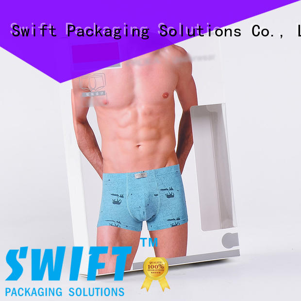SWIFT underwear packaging boxes customized for children