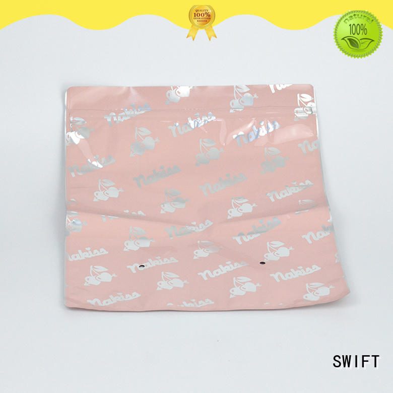 PVC cloth packaging bags with good price for swimwear