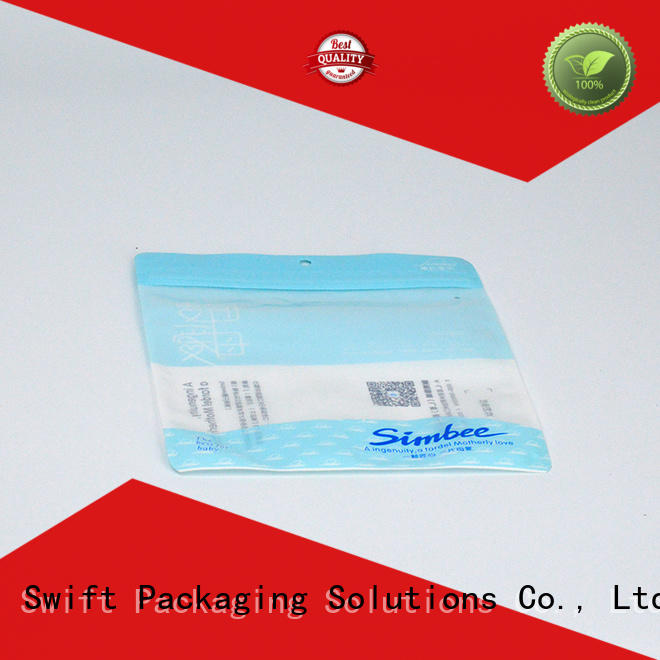 SWIFT eco friendly plastic packaging bags wholesale customized for underwear