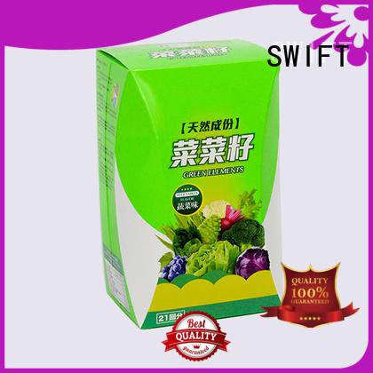 SWIFT cardboard food packaging supplier for dessert