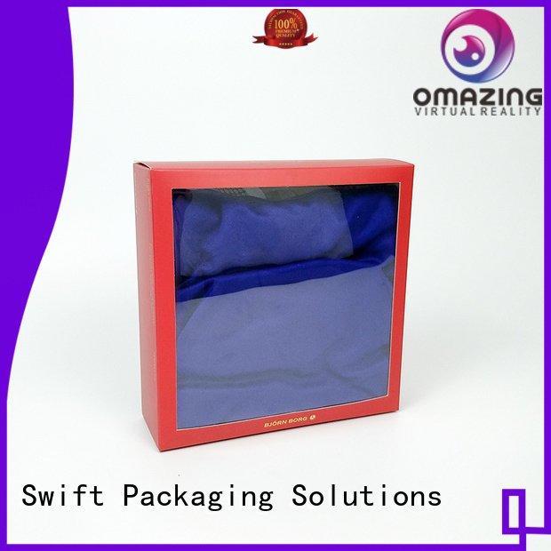 SWIFT packaging underwear packaging box printed
