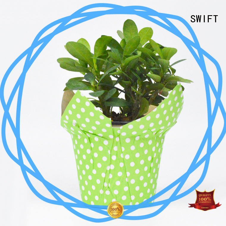 SWIFT paper pot cover factory for flower