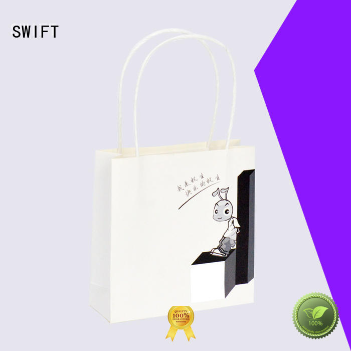 SWIFT paper gift bags with handles with good price for birthday