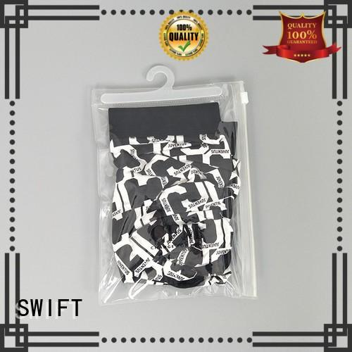 SWIFT custom printed plastic bags factory for underwear