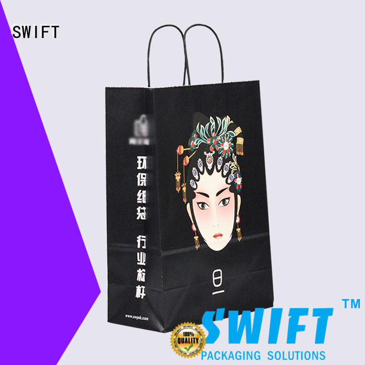 SWIFT wholesale paper gift bags with handles with good price for birthday