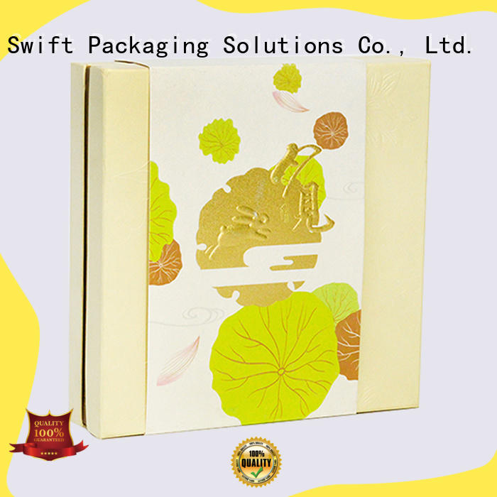 SWIFT house shape cardboard gift boxes manufacturer for holiday