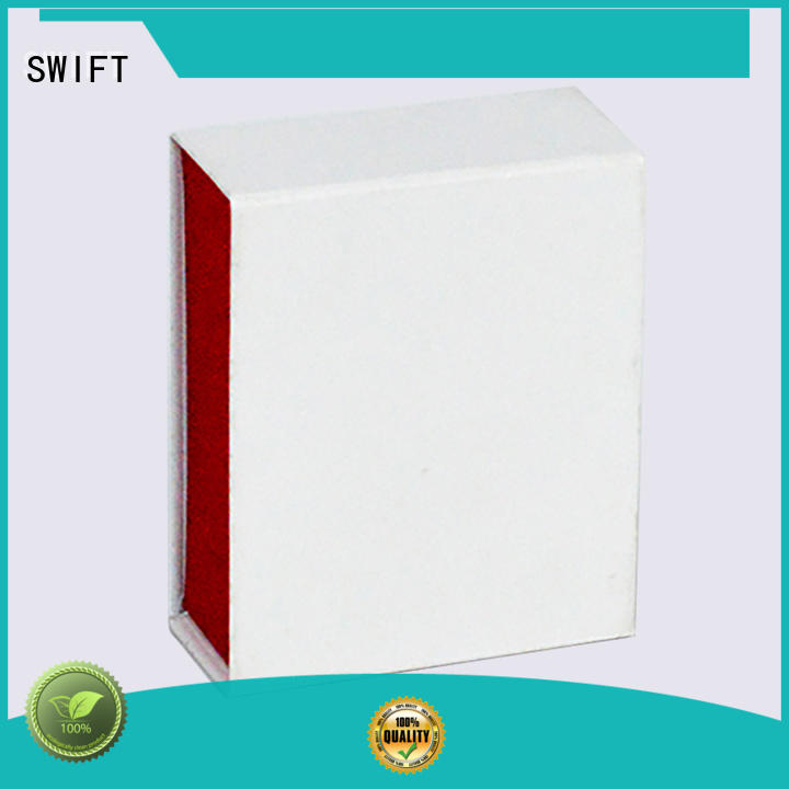 SWIFT silver custom cosmetic boxes customization for skin care products