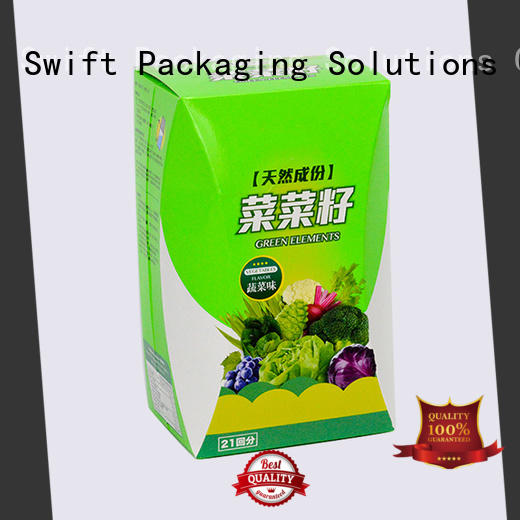 SWIFT high quality cardboard food boxes customized for dessert