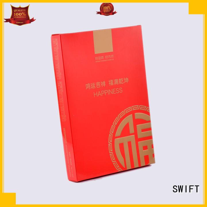 SWIFT Brand oemodm hook custom shirt boxes wholesale