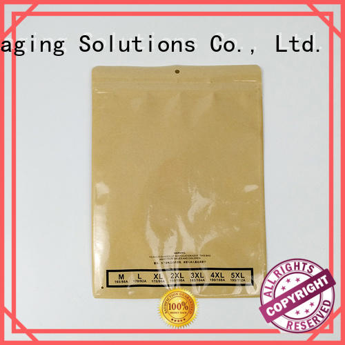 SWIFT zip lock paper shopping bags with handles wholesale for jacket