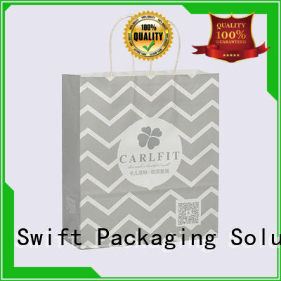 SWIFT paper bag manufacturers factory price for t shirt